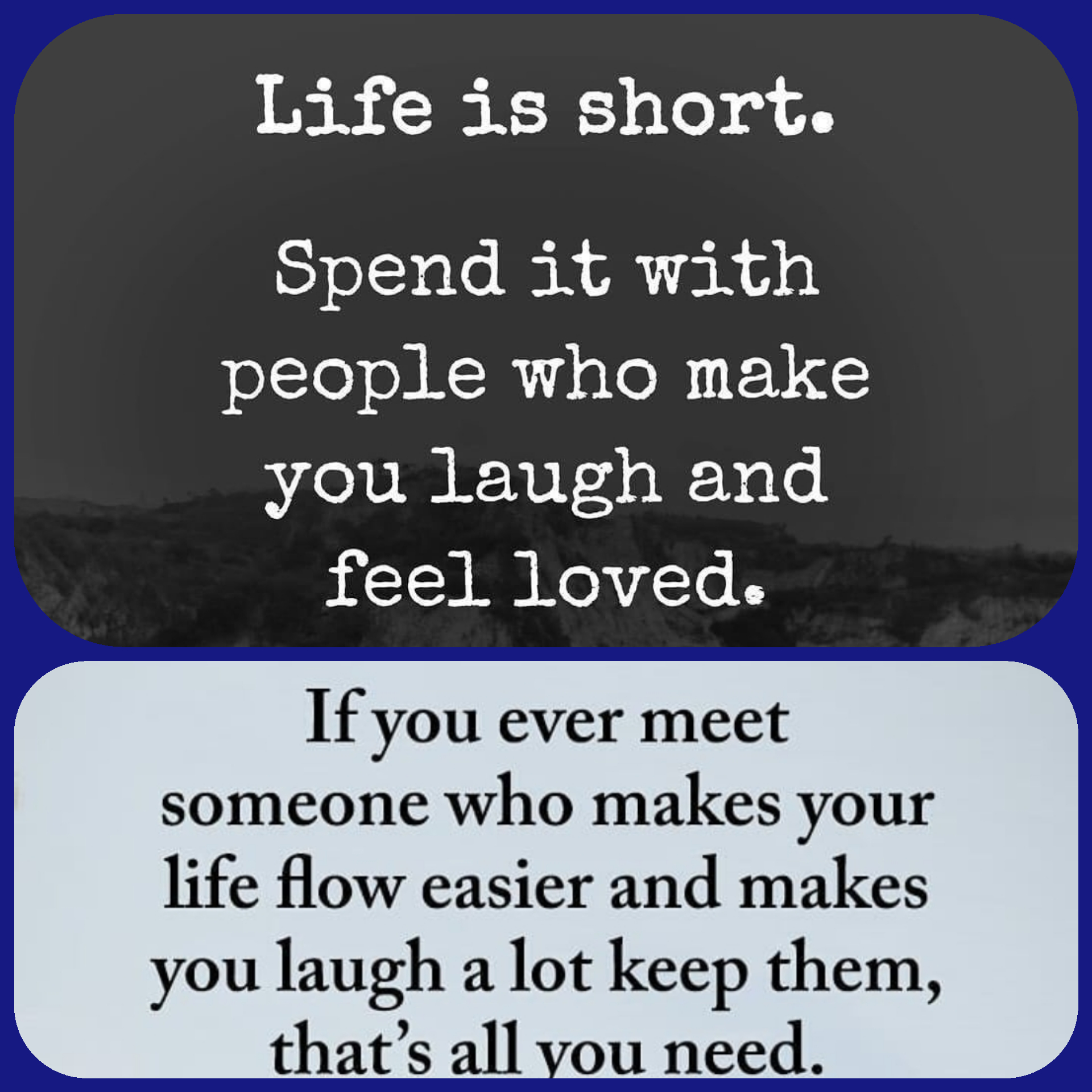 The people you surround yourself with !