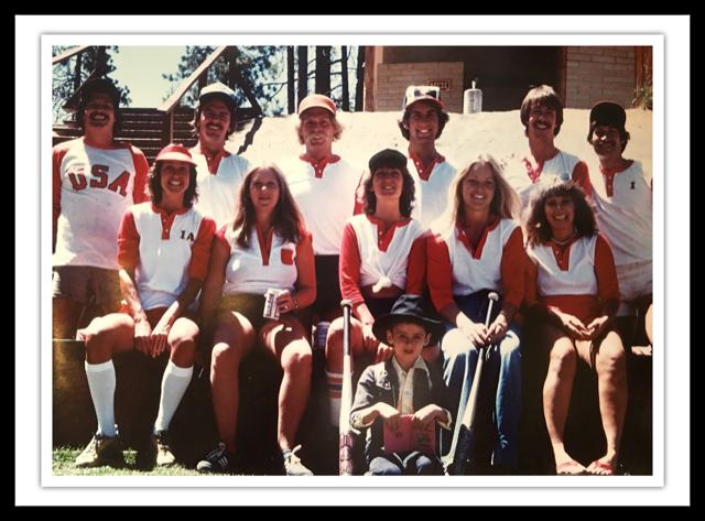 COED Softball Team Tahoe
