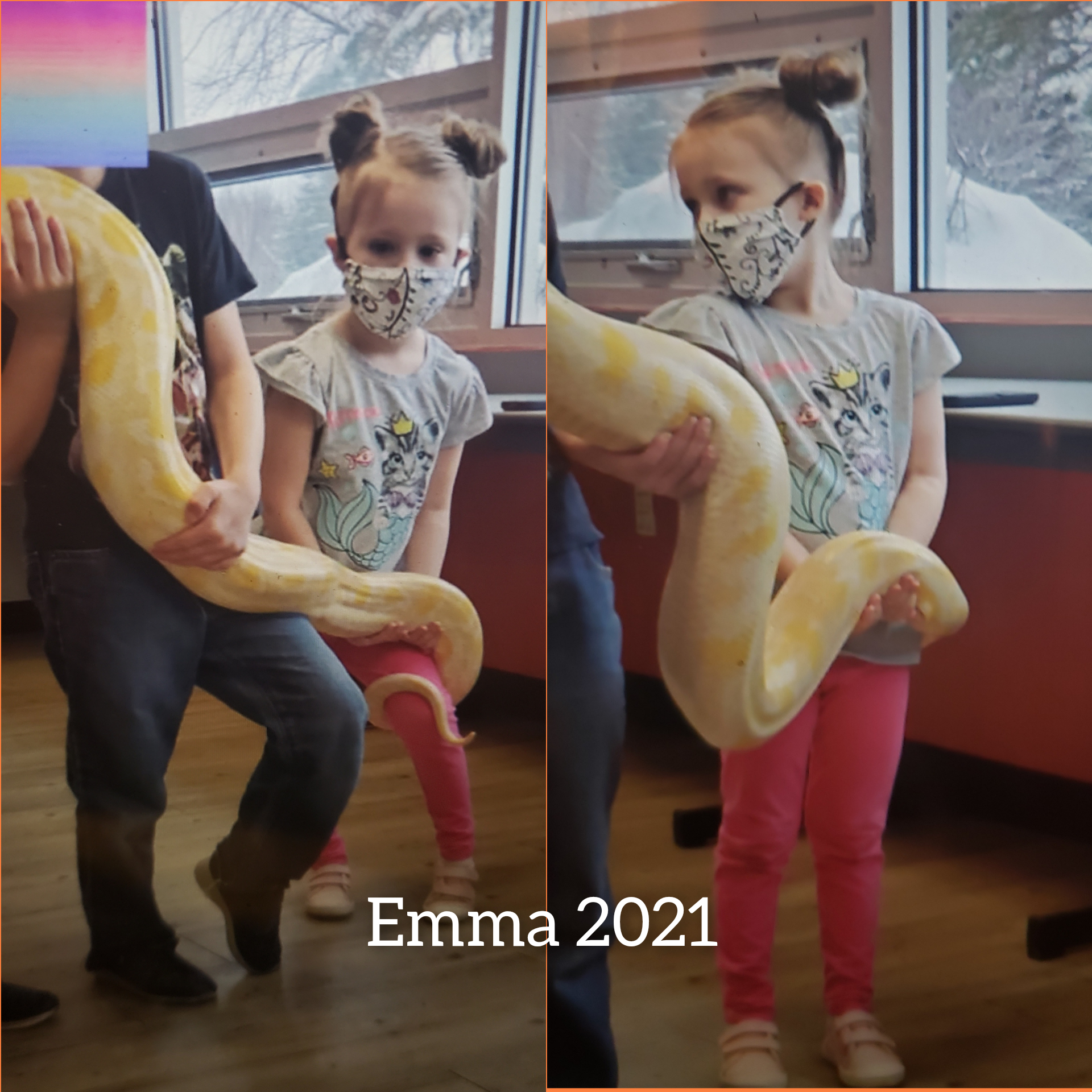 Emma and the Snake