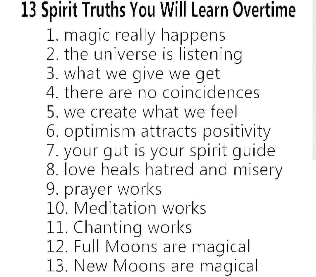 13 Truths
