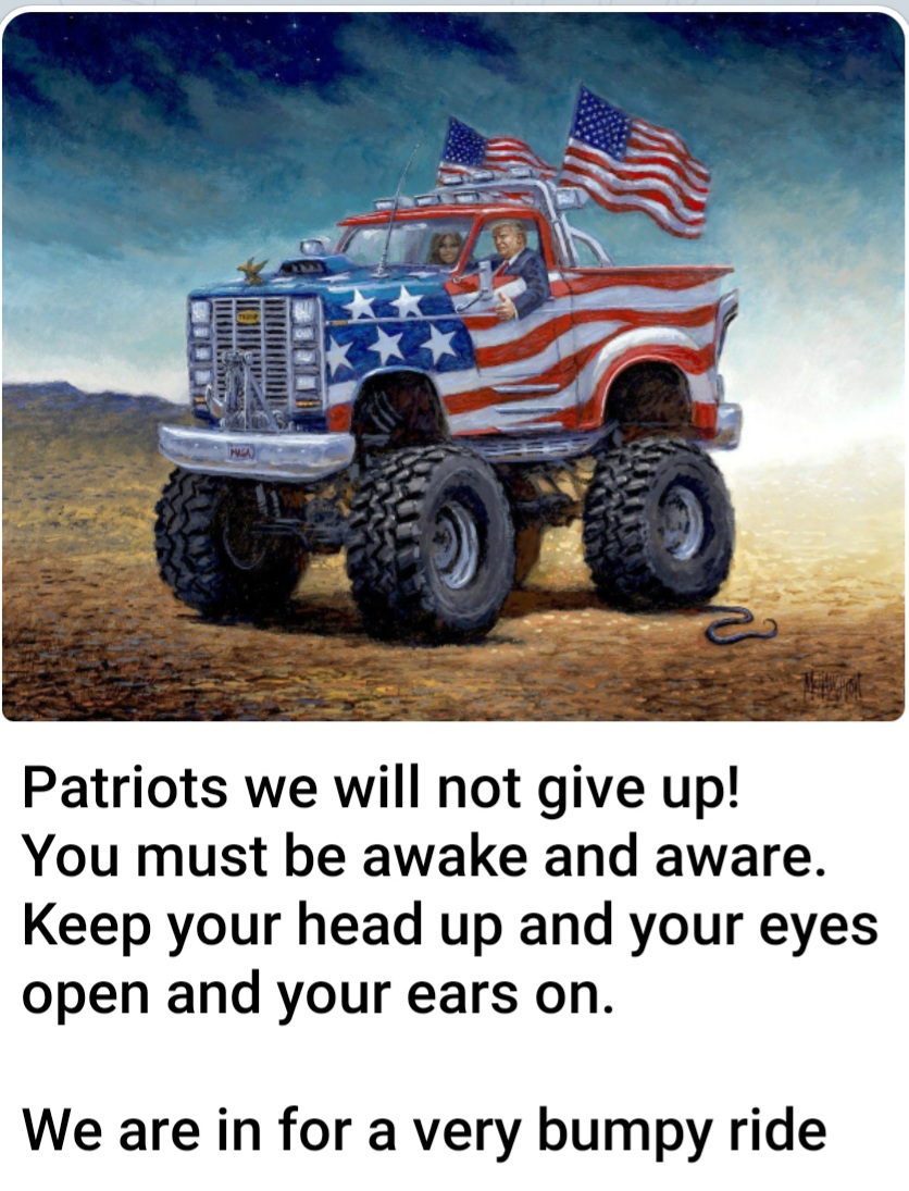 Patriots Never give Up!