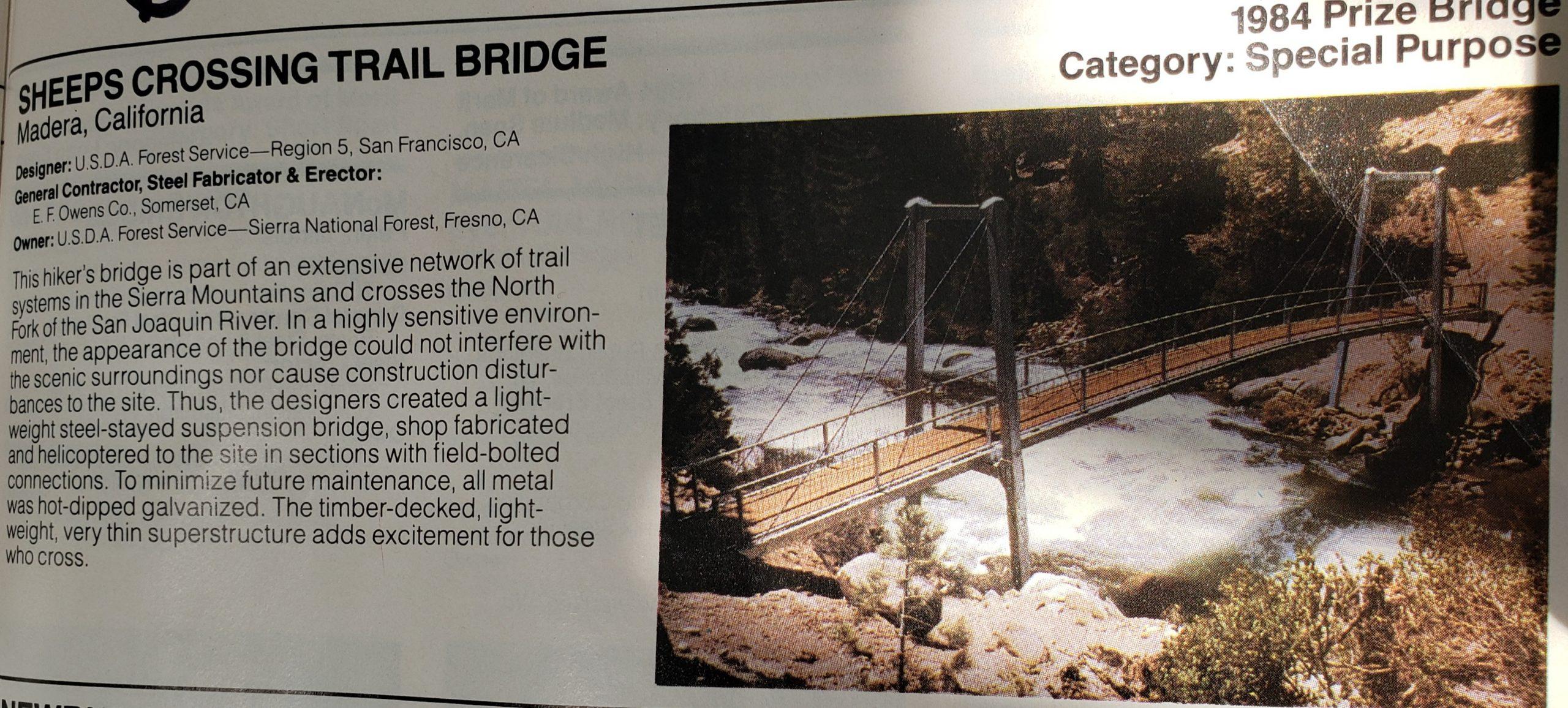 Sheeps Crossing Bridge