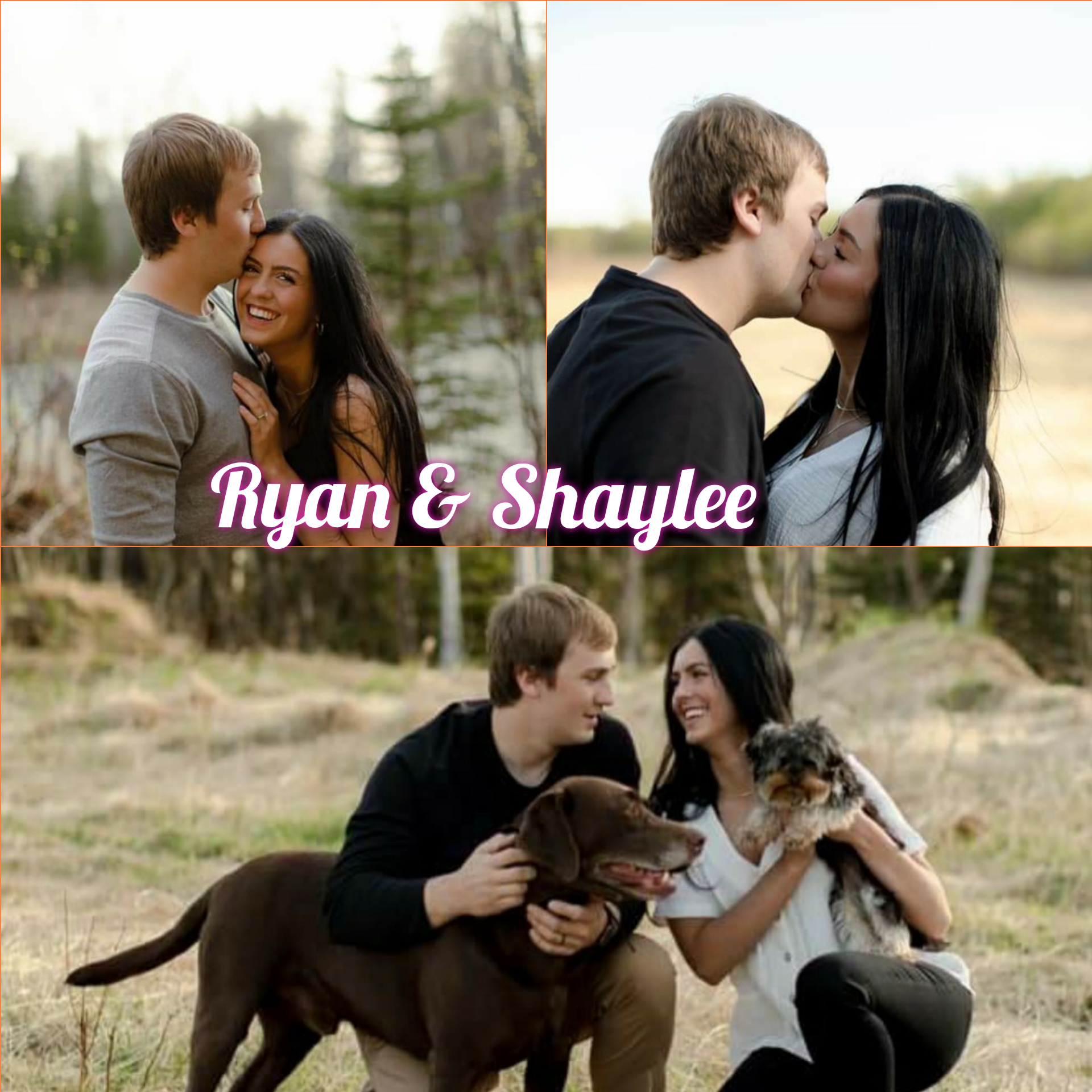 So Ryan and fiancé Shaylee