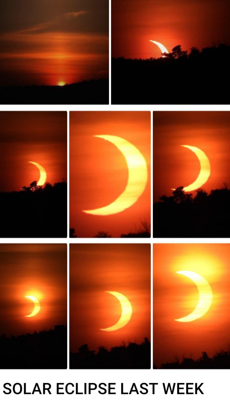 Solar Eclipse last week