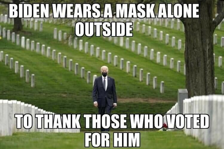 Where Joe Biden got his votes