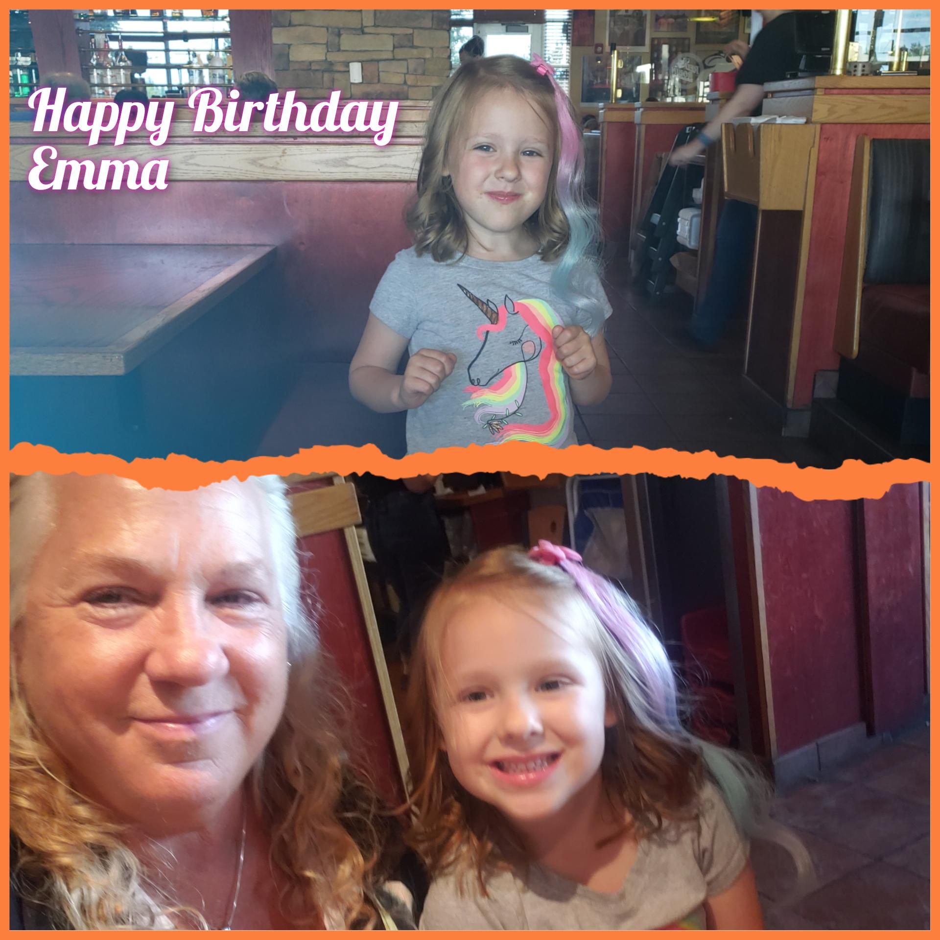Birthday Fun with Emma