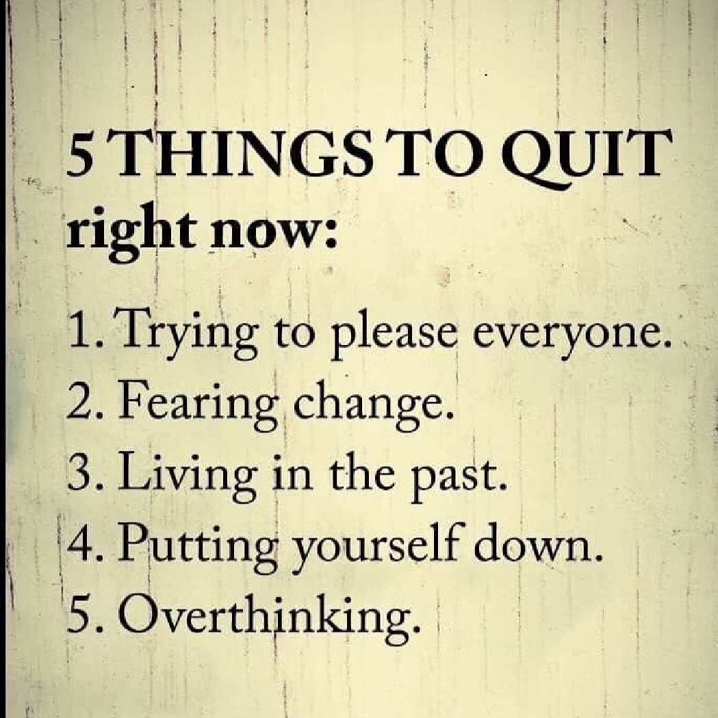 Things to Quit